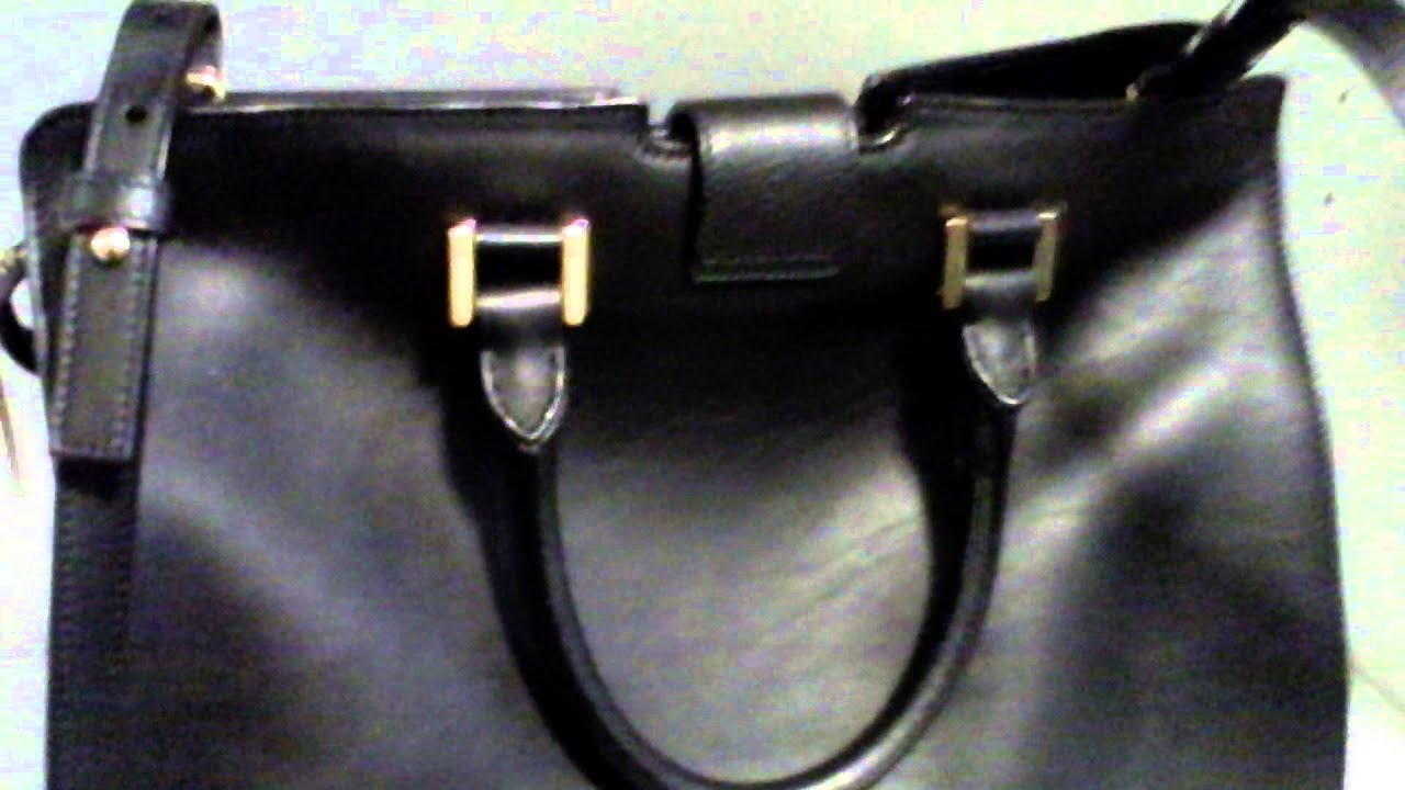 c2c264484863 Saint Laurent Small Cabas Y Bag - YouTube