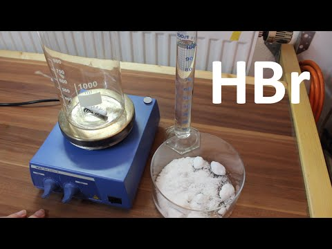 Synthesis of Hydrobromic Acid (HBr)