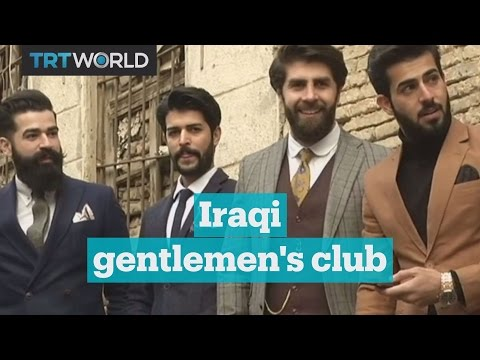 Mr. Erbil brings dandy fashion to northern Iraq