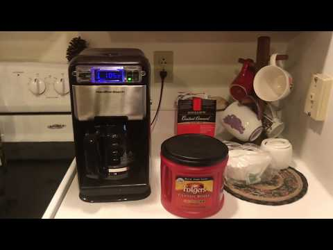 Best Budget Coffee Maker? Hamilton Beach 46205 12-Cup Coffee Maker Review