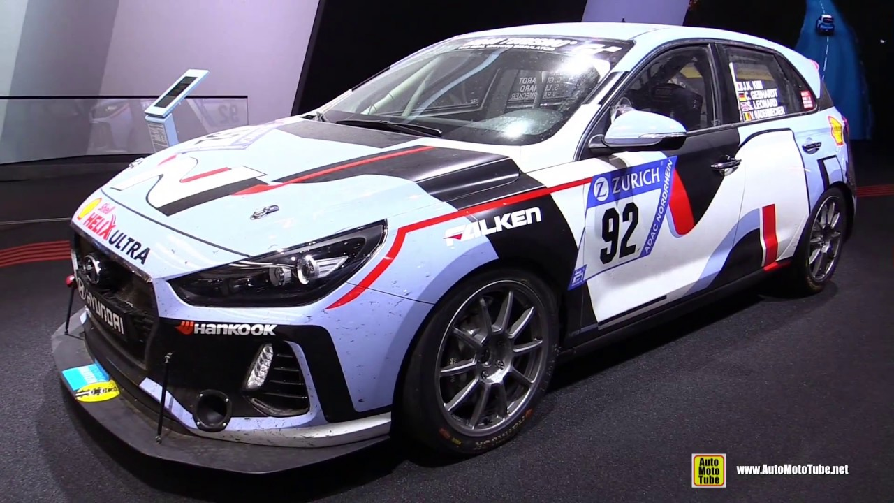 2017 Hyundai I30 N Racing Car Walkaround 2017 Frankfurt Auto