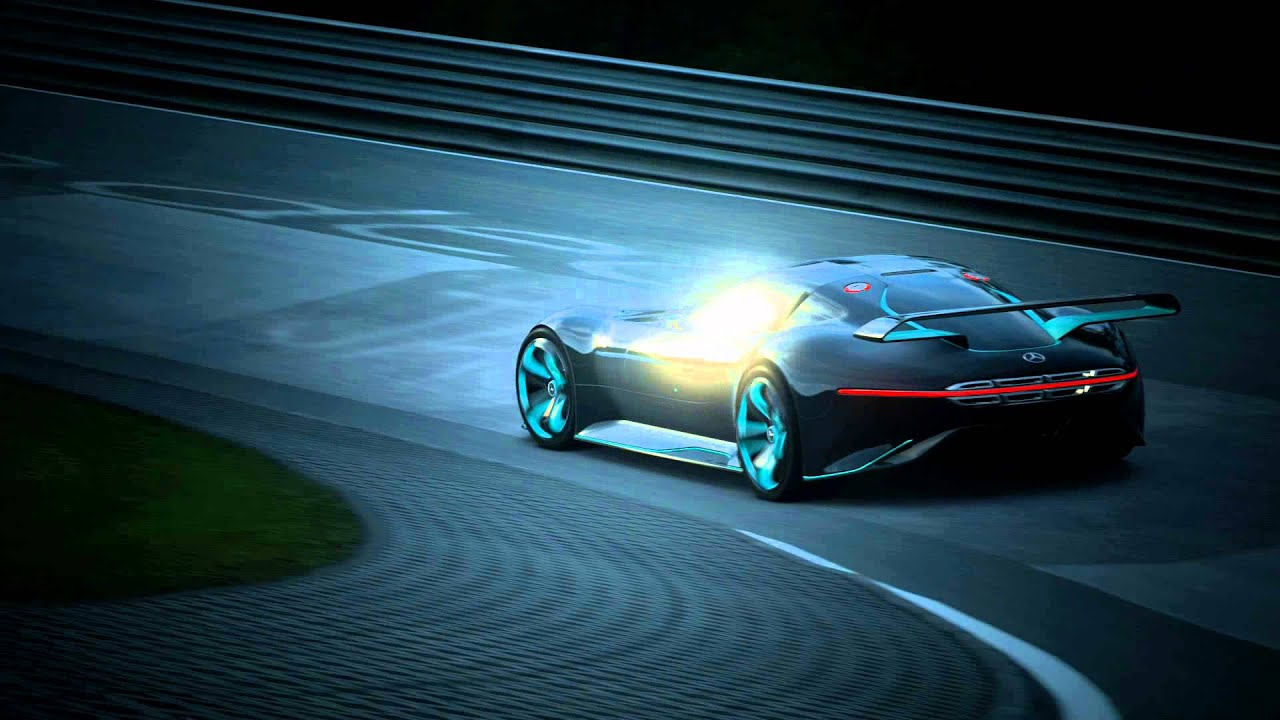 mercedes amg vision gran turismo trailer youtube. Black Bedroom Furniture Sets. Home Design Ideas