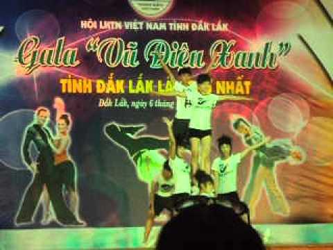AEROBIC-[Trouble] Gala Vu Dieu Xanh Tinh Dak Lak