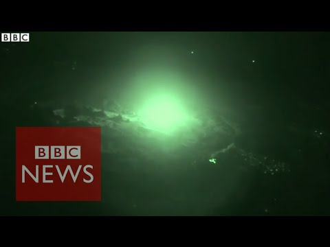 Islamic State: (Exclusive) BBC sees Iraq air strikes on Mosul - BBC News