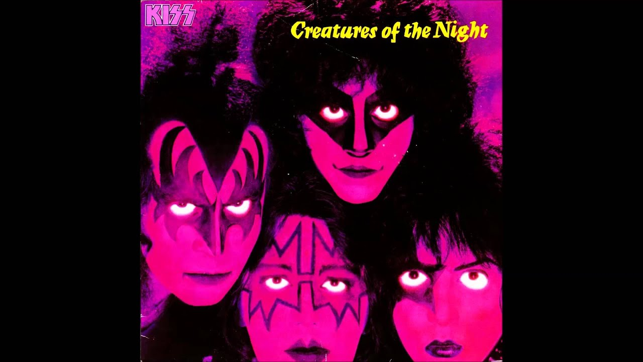 Kiss - Creatures Of The Night (1995, Glows In The Dark ...