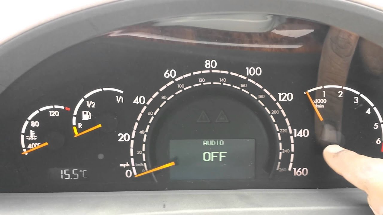 Part 5 5 mercedes s class w220 instrument cluster repair for Mercedes benz cluster repair