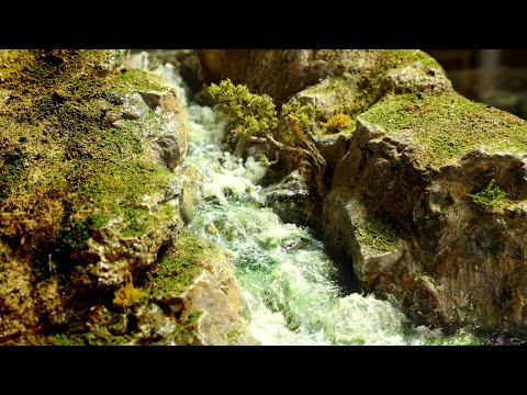 💦Model AMAZING Waterfalls/Rapids!💦 | (Realistic Scenery wargaming and railroad)