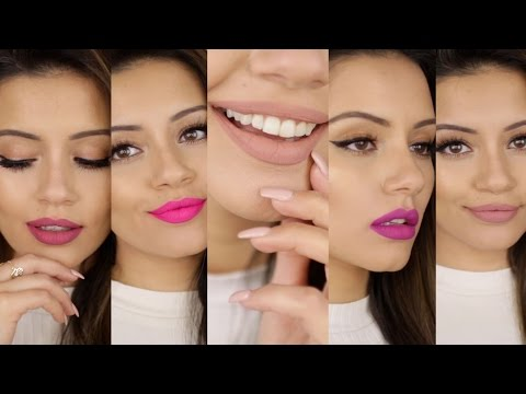 Anastasia Beverly Hills Liquid Lipsticks NEW 2016 SHADES | Lip Lookbook