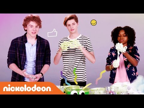 Make Slime w/ Jace Norman, Riele Downs, & More | Kids