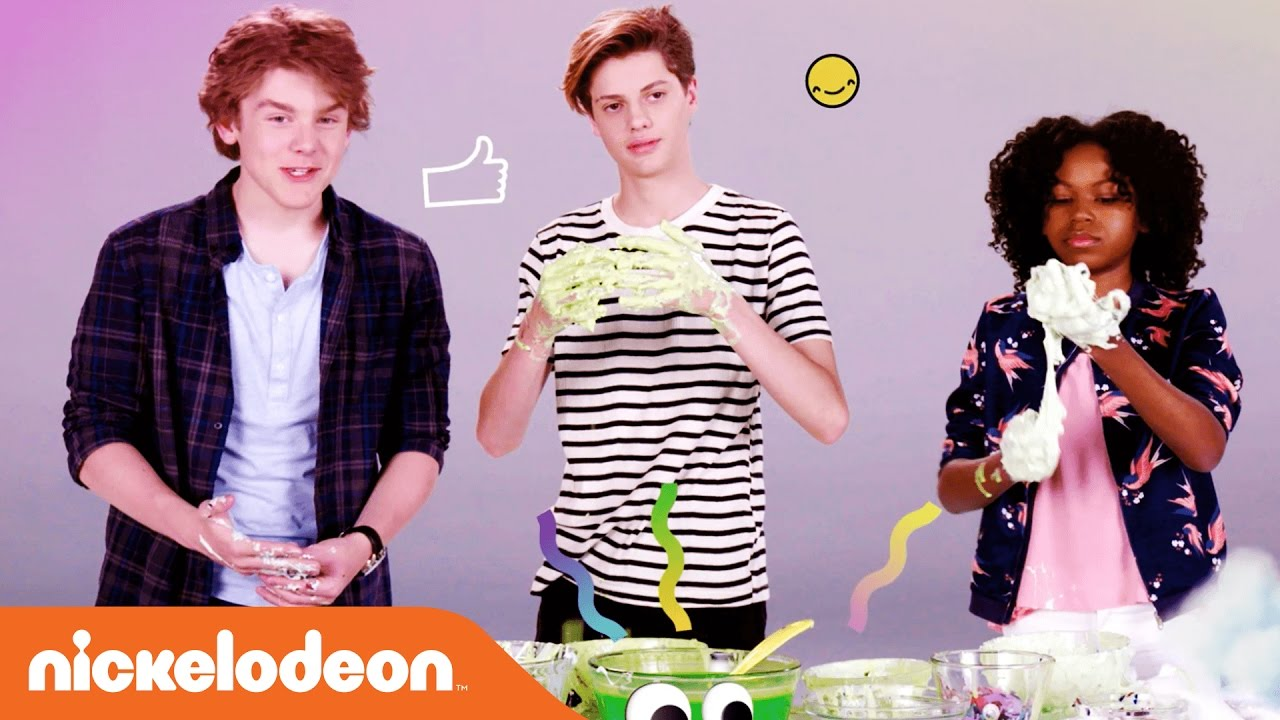 Make slime w jace norman riele downs more kids choice make slime w jace norman riele downs more kids choice awards 2017 nick ccuart Gallery