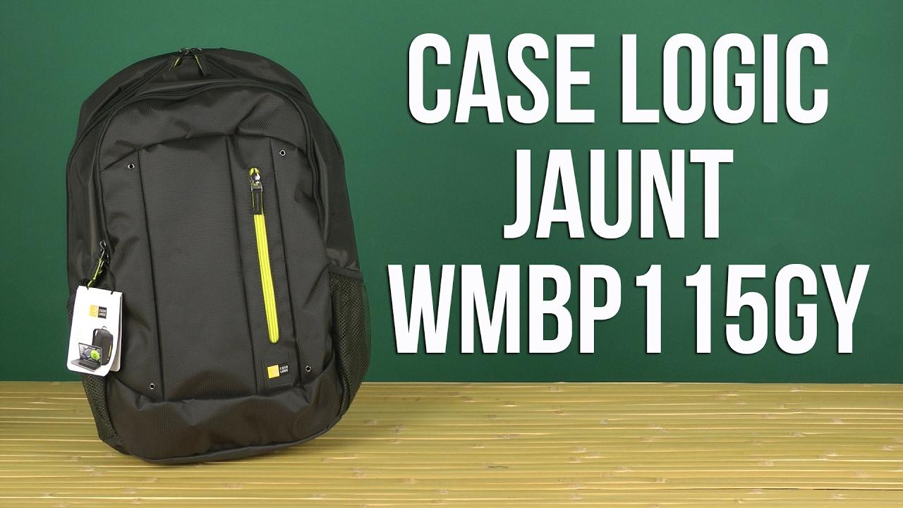 b9125b21c9 Распаковка Case Logic Jaunt 15.6