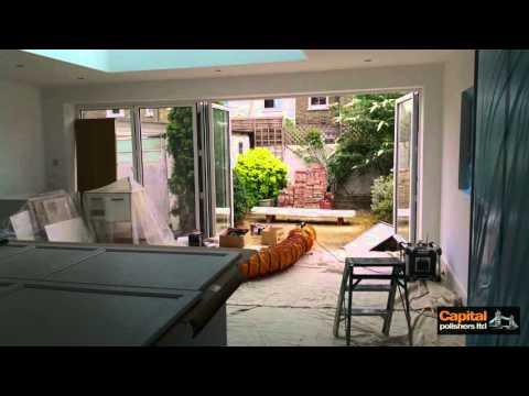 'PAVILLION GRAY' 242 Farrow and Ball - Ikea kitchen cutom paint finish