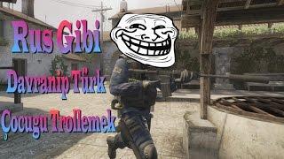 CS:GO - Rus Gibi Davranıp Türk Çocuğu Trollemek :D