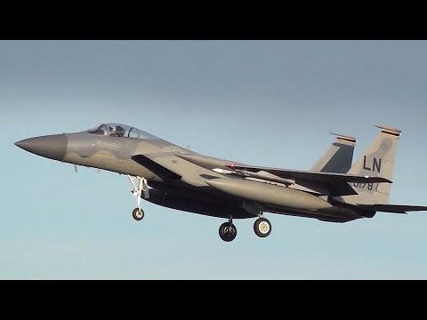 A day with the 48th FW at RAF Lakenheath