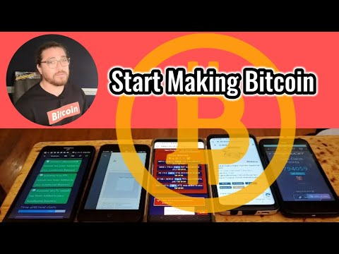 Use Your Old Phones To Earn Bitcoin!!!