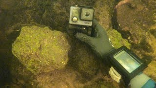 Lost GoPro Found 4 Years Later Underwater in River! (Scuba Diving)