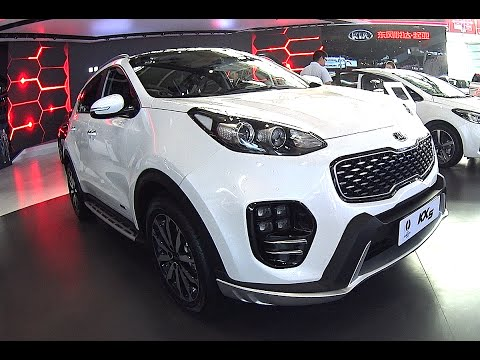 New Kia Sportage KX5 2016, 2017 best small suv to buy, crossover Kia Sportage 2016, 2017