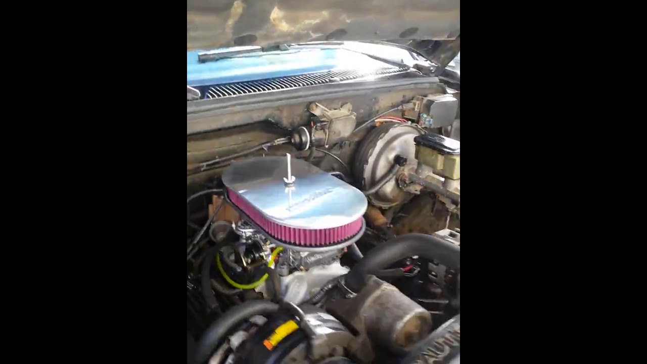Tbi To Carb Swap Chevy Truck Part 1 Youtube Conversion Wiring Diagram