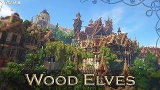 Winner! Wood Elf Darwin Reforged Server Elven Contest Build YouTube