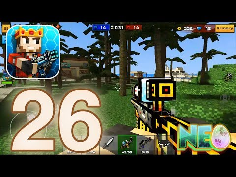 Pixel Gun 3D: Gameplay Walkthrough Part 26 - Multiplayer Battle! (iOS, Android)