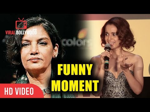 Kangana Ranaut On Following Shabana Azmi Main Hu Hi Nahi Twitter Par Funny Moment