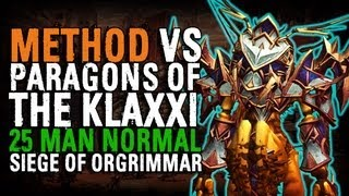 Method vs Paragons of the Klaxxi (25 Normal)