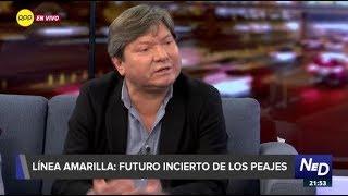 """Jorge Valdez: """"Jorge Muñoz no tiene un plan para Lima"""""""