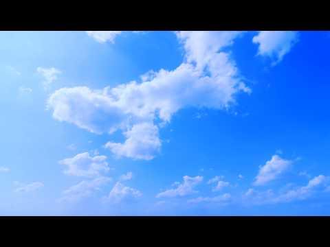 Deep Blue Sky - Clouds Timelapse - Free Footage - Full HD 1080p