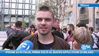 iPhone XS in Italia, prima volta al nuovo Apple Store di Milano