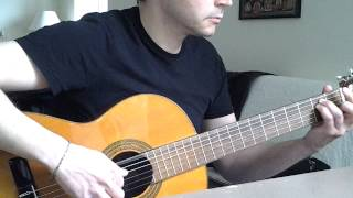 "Dunkelheit ""Burzum cover"" Classical Guitar"