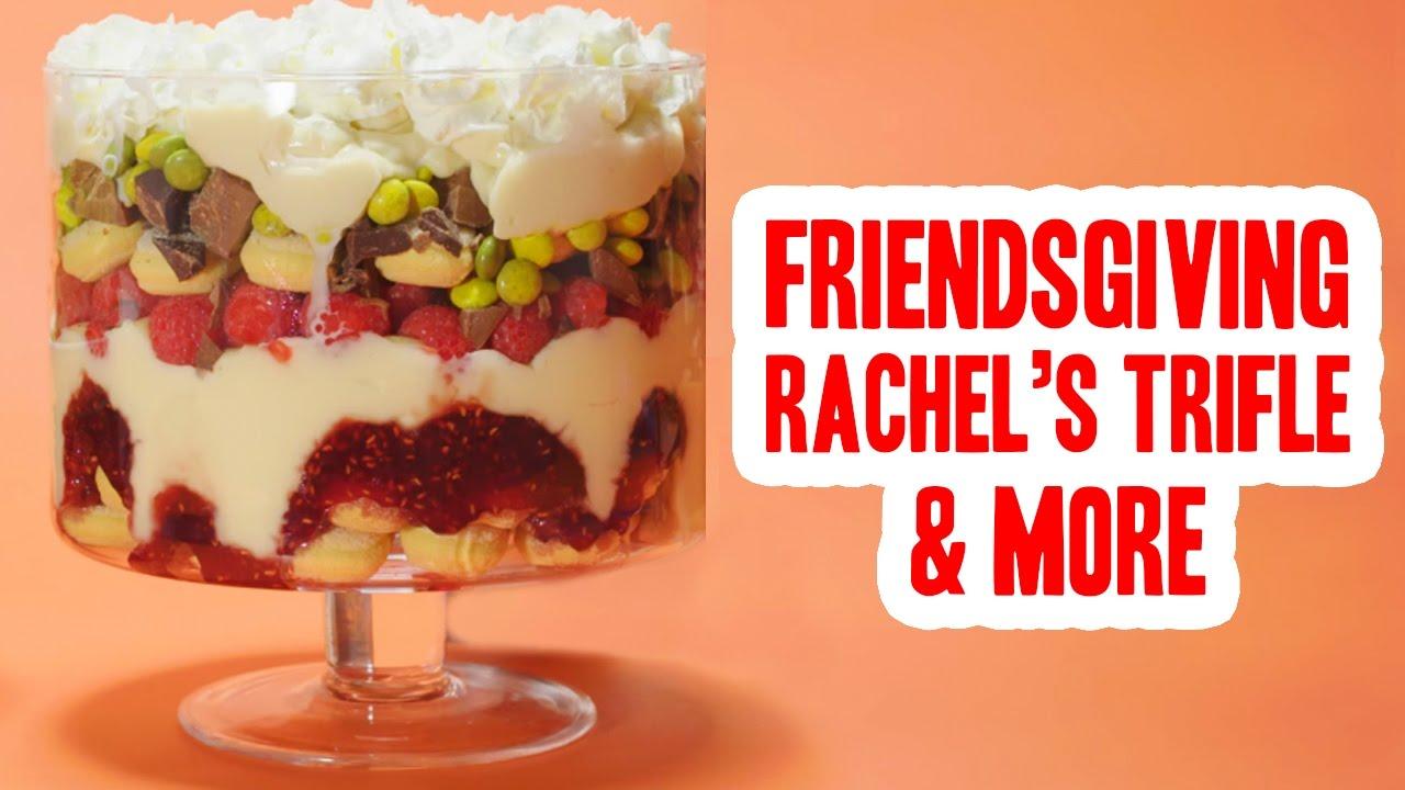 Friendsgiving Rachel S Trifle Ross S Moist Maker Sandwich Youtube