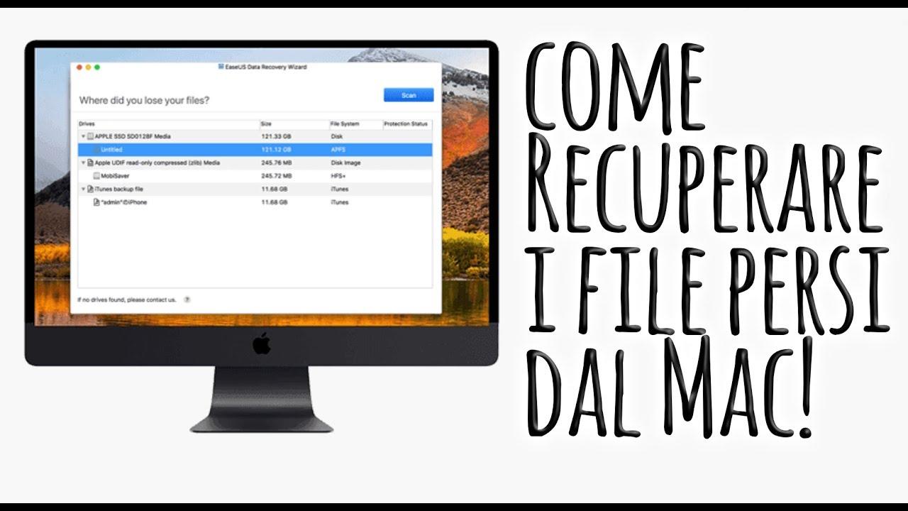 Disk Drill. L'applicazione che salva i file cancellati per Mac e Windows