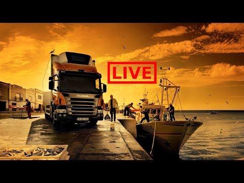 Euro Truck Simulator 2. Multiplayer. Заработок. 18+