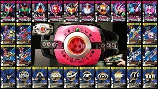 仮面ライダーディケイド 【DXネオディケイドライバー】仮面ライダージオウ版 ライダーカード Kamen Rider Decade [DX Neo Decadriver]
