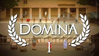 Oldschool Styled Gladiator Simulator - Domina Gameplay - Part 2 - PC Gameplay HD