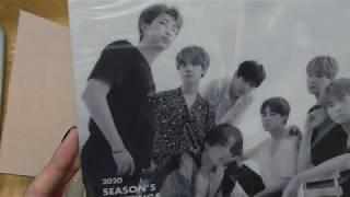 開箱Unboxing:BTS 2020 Season's Greetings
