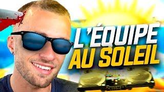 L'ÉQUIPE AU SOLEIL ! (ft. Squeezie, Gotaga, Micka, Doigby, Terracid)