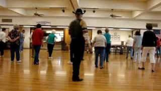 Cowboy Shaggin ( Line Dance ) Walkthrough.wmv