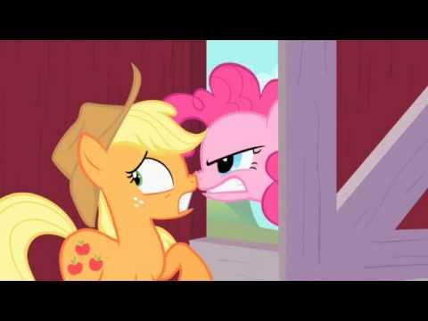 My Little Pony clip: Applejack Fends Off Suspicious Pinkie Pie
