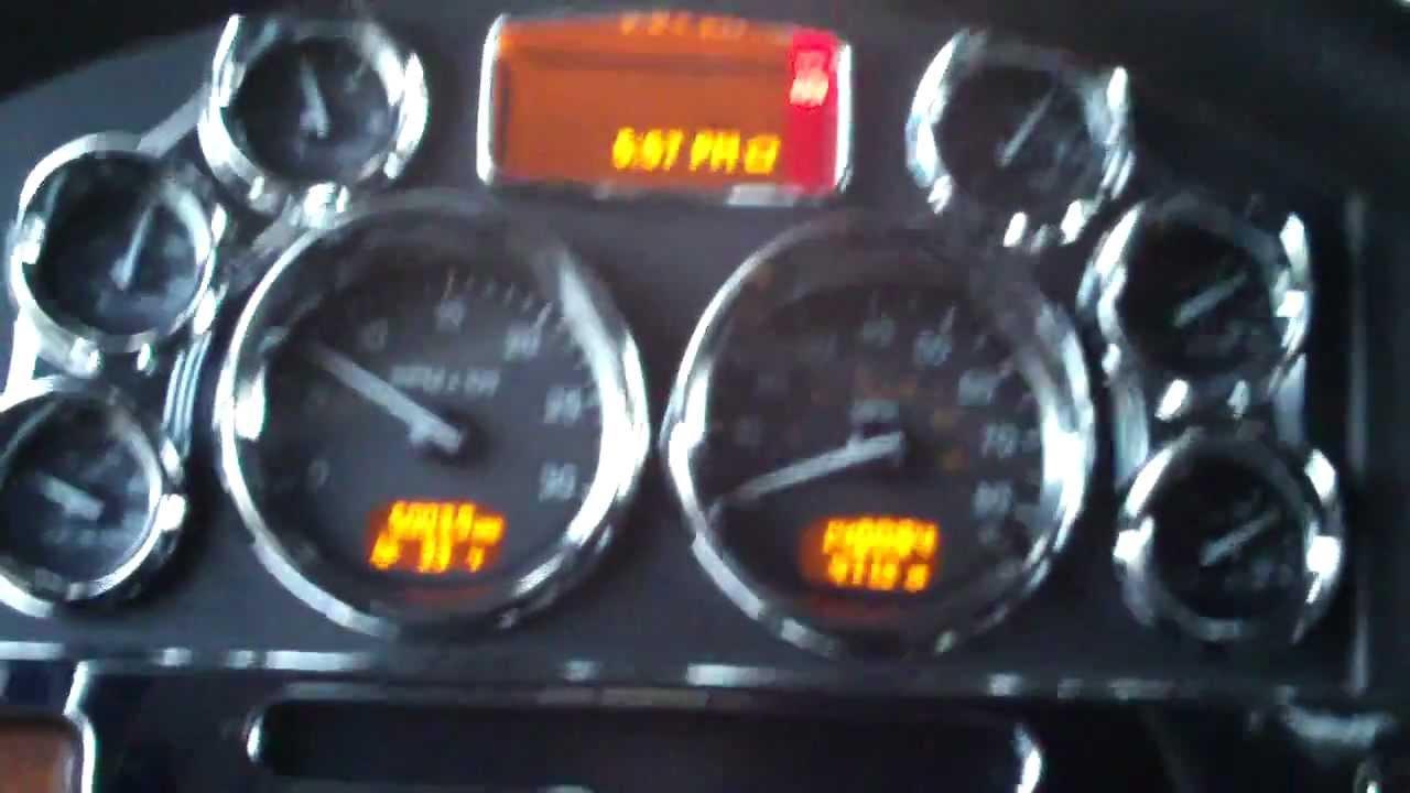 Dooner\'s Peterbilt 389 truck tour Part 1 - YouTube