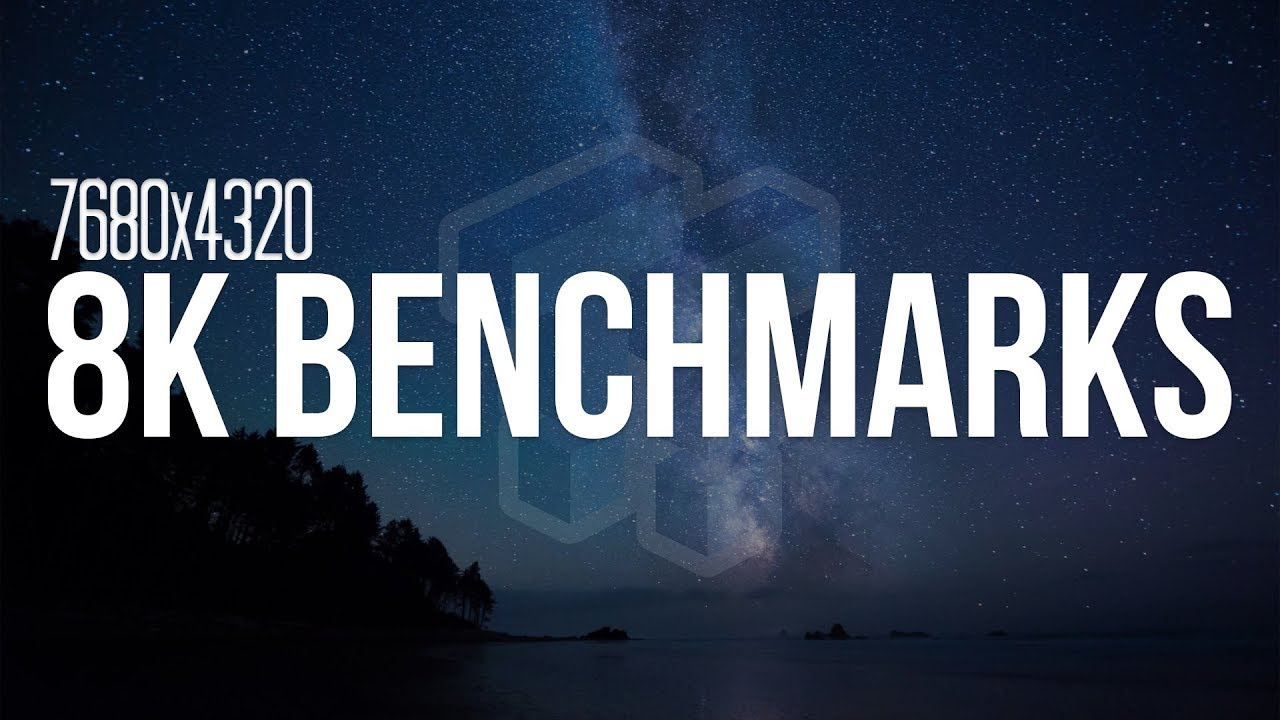 8K Benchmarking: RX Vega 64 vs GTX 1080 Ti vs TITAN Xp - PART 1!!