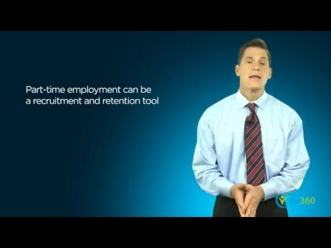 The Benefits Of Part-Time Employees And Job Shares