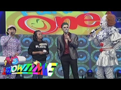 It's Showtime Funny One: Vhong asks Donna about 'James'