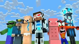 Monster School : SEASON 3 ALL EPISODE - Minecraft Animation