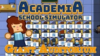 Building a Huge Classroom - Academia: School Simulator Gameplay (School Architect)