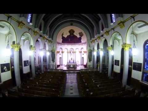 Inside Sacred Heart Catholic Church