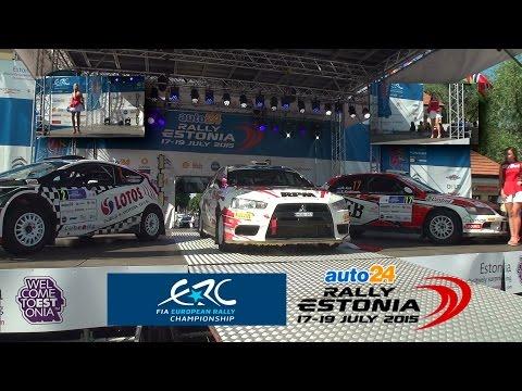 FIA  ERC auto24 Rally Estonia 2015 | Podium | Prize-Giving Ceremony | Vol1