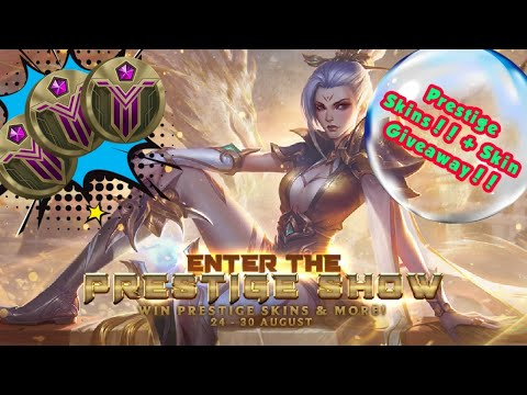 League Of Legends - Enter the Prestige Show Event Tips and Guide || Prestige Skins + Giveaways!!