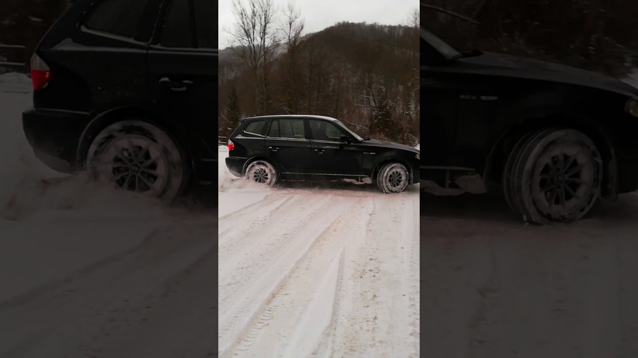 bmw x3 e83 off road in snow youtube. Black Bedroom Furniture Sets. Home Design Ideas