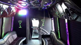 CT Limo Bus services. PA Bus limousine,   NJ limo bus, NY Party bus limo,